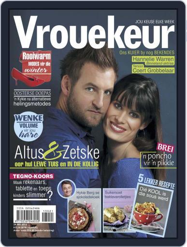 Vrouekeur May 19th, 2013 Digital Back Issue Cover