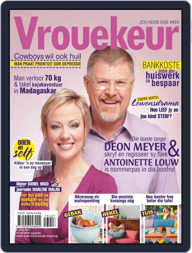 Vrouekeur June 30th, 2013 Digital Back Issue Cover