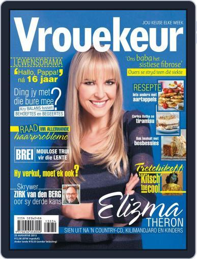 Vrouekeur August 18th, 2013 Digital Back Issue Cover