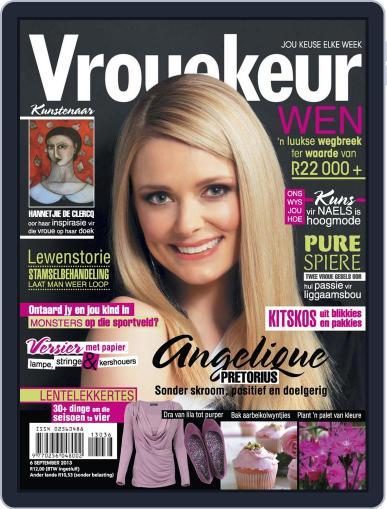 Vrouekeur September 1st, 2013 Digital Back Issue Cover