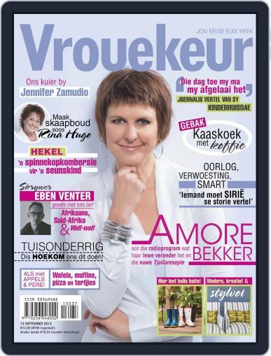 Vrouekeur September 8th, 2013 Digital Back Issue Cover