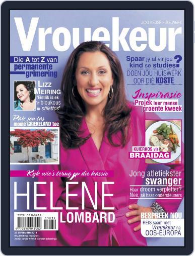 Vrouekeur September 22nd, 2013 Digital Back Issue Cover