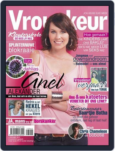 Vrouekeur (Digital) September 29th, 2013 Issue Cover