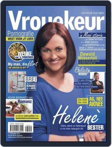 Vrouekeur October 6th, 2013 Digital Back Issue Cover