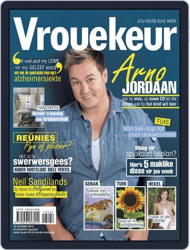 Vrouekeur (Digital) October 13th, 2013 Issue Cover