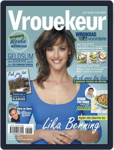 Vrouekeur (Digital) October 20th, 2013 Issue Cover