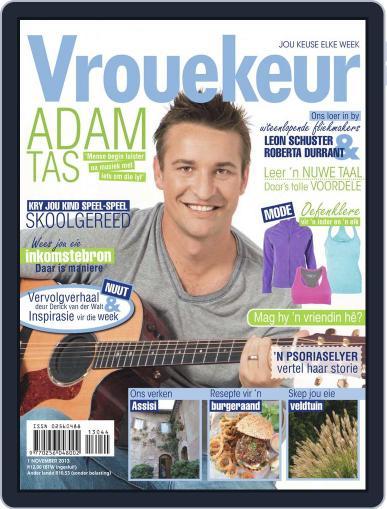 Vrouekeur (Digital) October 27th, 2013 Issue Cover