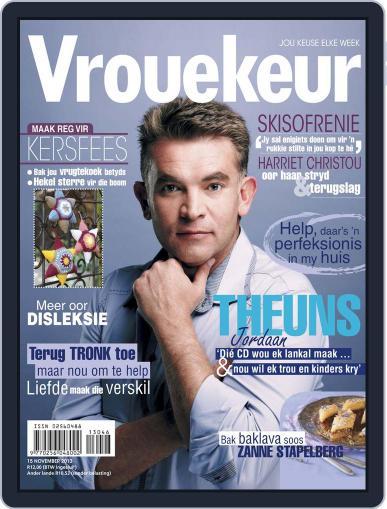 Vrouekeur November 10th, 2013 Digital Back Issue Cover