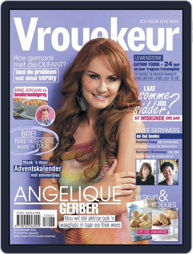 Vrouekeur (Digital) November 17th, 2013 Issue Cover