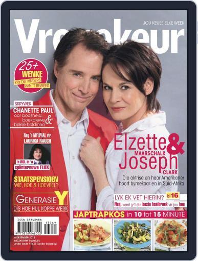 Vrouekeur (Digital) December 1st, 2013 Issue Cover
