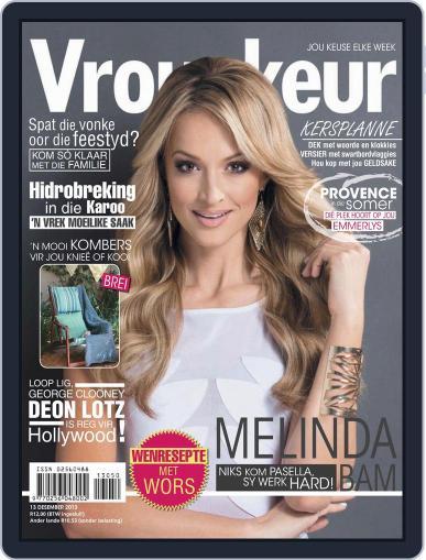 Vrouekeur (Digital) December 8th, 2013 Issue Cover