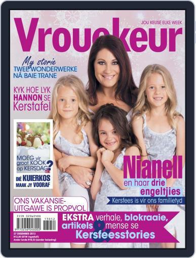 Vrouekeur (Digital) December 15th, 2013 Issue Cover