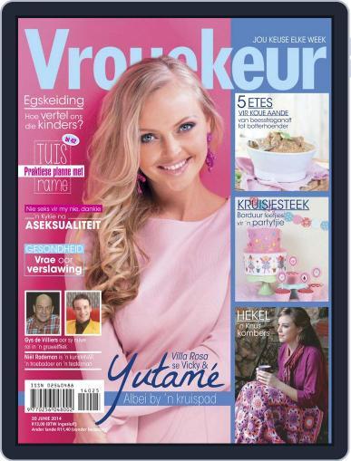 Vrouekeur (Digital) June 15th, 2014 Issue Cover