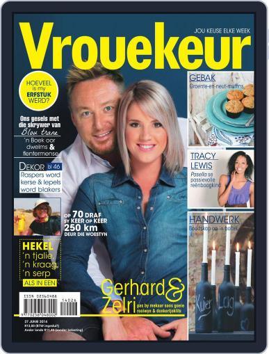 Vrouekeur (Digital) June 22nd, 2014 Issue Cover