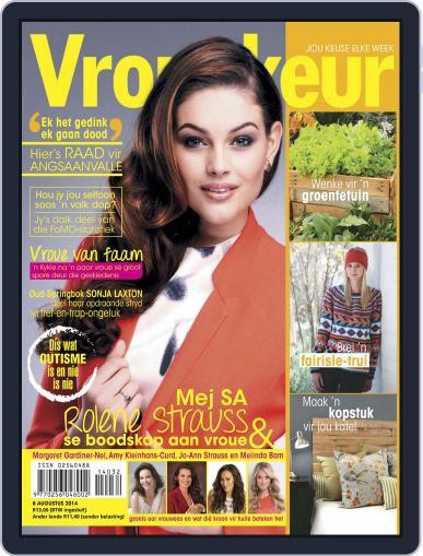 Vrouekeur (Digital) August 3rd, 2014 Issue Cover
