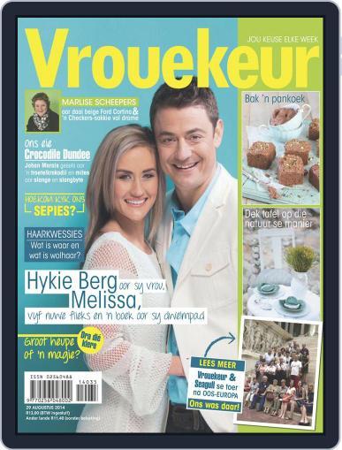 Vrouekeur (Digital) August 24th, 2014 Issue Cover