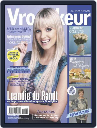 Vrouekeur September 14th, 2014 Digital Back Issue Cover