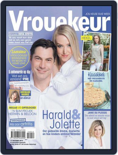 Vrouekeur (Digital) October 12th, 2014 Issue Cover