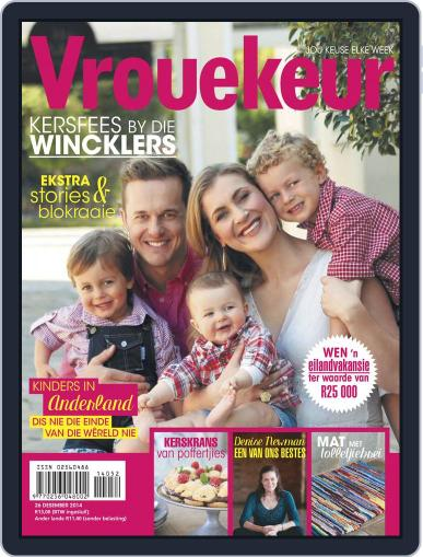 Vrouekeur December 14th, 2014 Digital Back Issue Cover