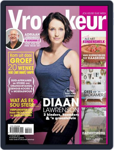 Vrouekeur (Digital) March 8th, 2015 Issue Cover