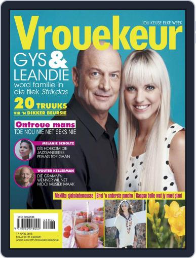 Vrouekeur April 12th, 2015 Digital Back Issue Cover