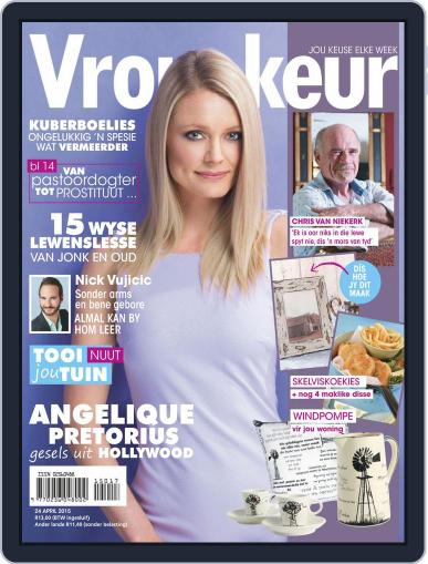 Vrouekeur (Digital) April 19th, 2015 Issue Cover