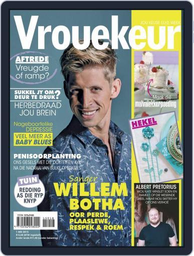 Vrouekeur April 26th, 2015 Digital Back Issue Cover
