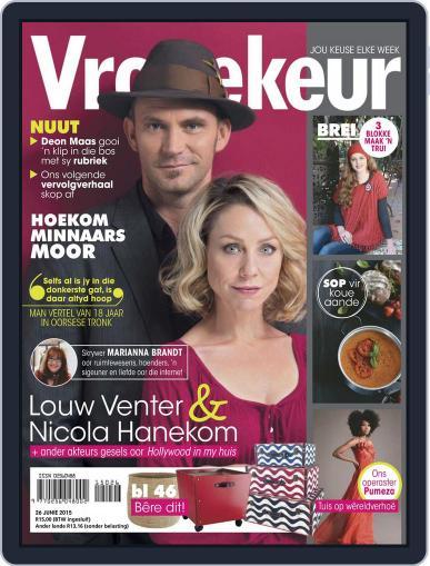 Vrouekeur (Digital) June 21st, 2015 Issue Cover