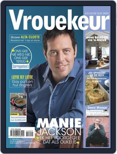 Vrouekeur July 12th, 2015 Digital Back Issue Cover