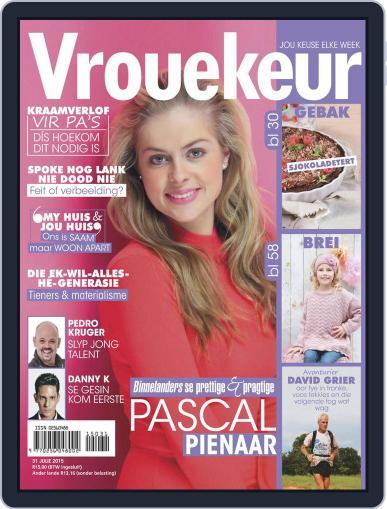 Vrouekeur (Digital) July 31st, 2015 Issue Cover
