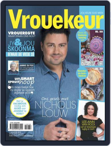 Vrouekeur (Digital) August 7th, 2015 Issue Cover