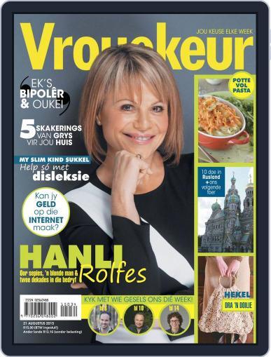 Vrouekeur (Digital) August 21st, 2015 Issue Cover