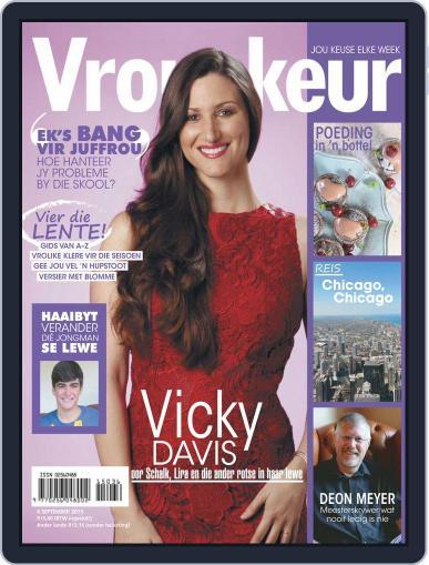 Vrouekeur (Digital) September 4th, 2015 Issue Cover