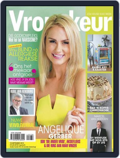 Vrouekeur (Digital) September 18th, 2015 Issue Cover