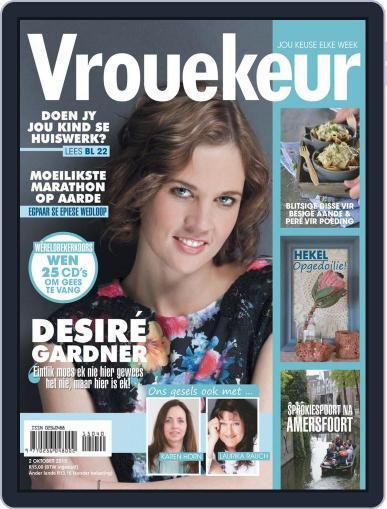 Vrouekeur October 2nd, 2015 Digital Back Issue Cover