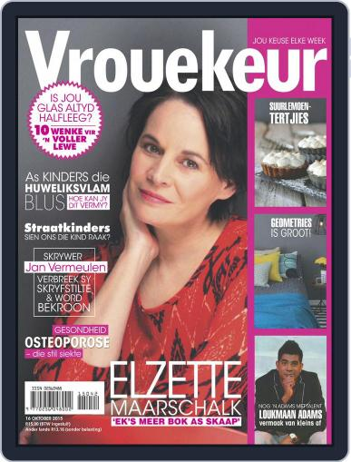 Vrouekeur October 16th, 2015 Digital Back Issue Cover