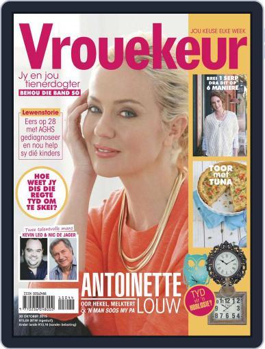 Vrouekeur October 30th, 2015 Digital Back Issue Cover