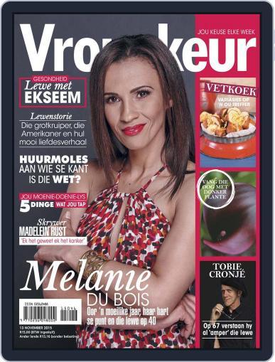Vrouekeur November 13th, 2015 Digital Back Issue Cover
