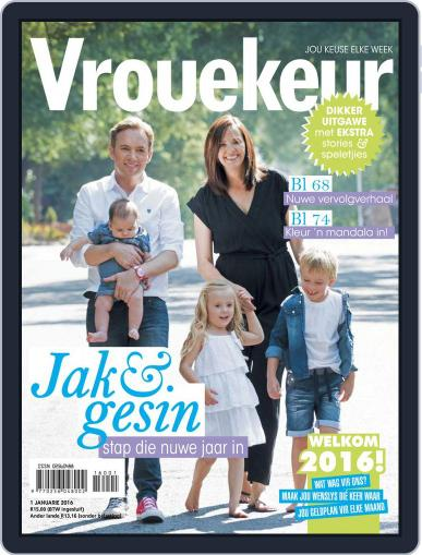 Vrouekeur (Digital) January 1st, 2016 Issue Cover