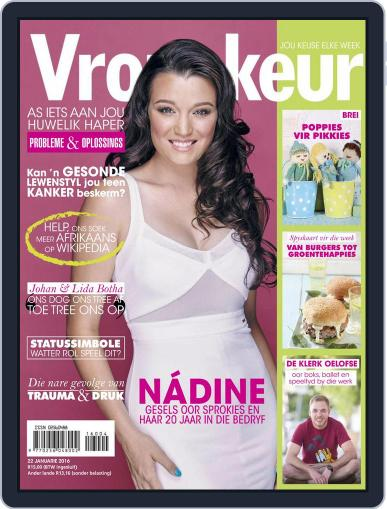 Vrouekeur January 22nd, 2016 Digital Back Issue Cover