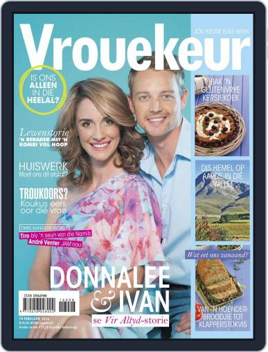 Vrouekeur (Digital) February 19th, 2016 Issue Cover