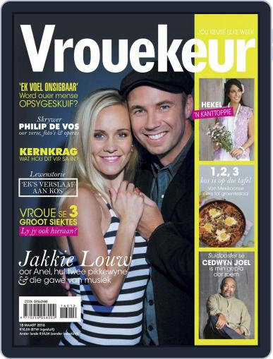 Vrouekeur (Digital) March 14th, 2016 Issue Cover