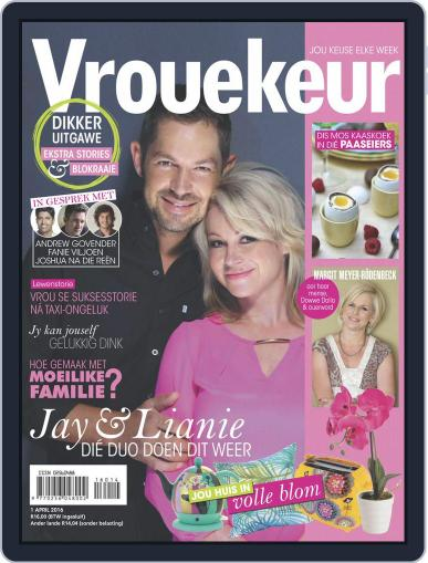 Vrouekeur (Digital) March 21st, 2016 Issue Cover