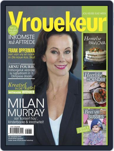 Vrouekeur August 25th, 2016 Digital Back Issue Cover