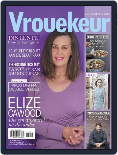 Vrouekeur (Digital) September 2nd, 2016 Issue Cover
