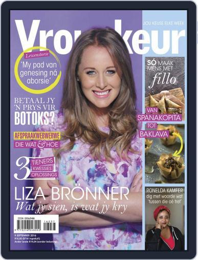 Vrouekeur (Digital) September 9th, 2016 Issue Cover