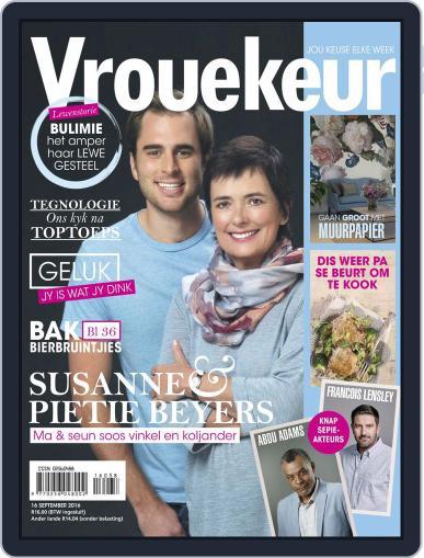 Vrouekeur September 16th, 2016 Digital Back Issue Cover