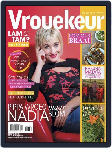 Vrouekeur (Digital) September 23rd, 2016 Issue Cover