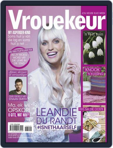 Vrouekeur September 30th, 2016 Digital Back Issue Cover