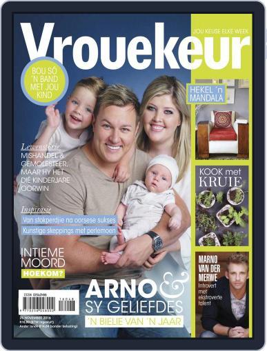 Vrouekeur November 25th, 2016 Digital Back Issue Cover